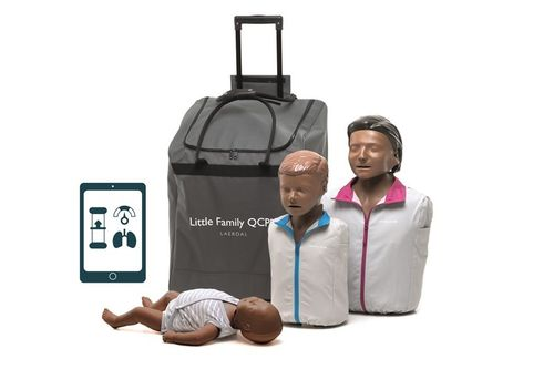 Little Family Pack QCPR - Pelle scura