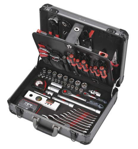 "Aluminium tool case ""Jolly"" 116pcs"