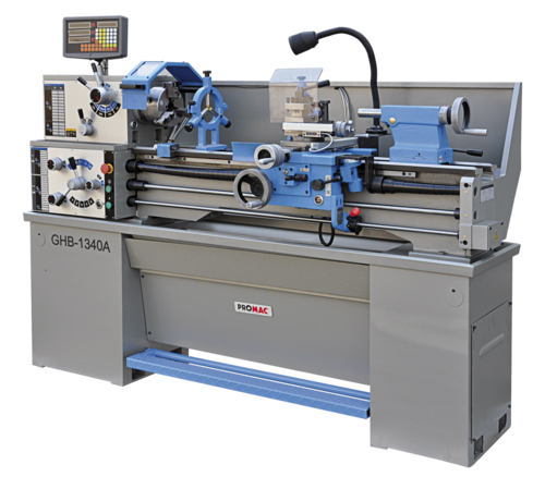 Metal lathes GHB 1330 with 3-axis digital readout