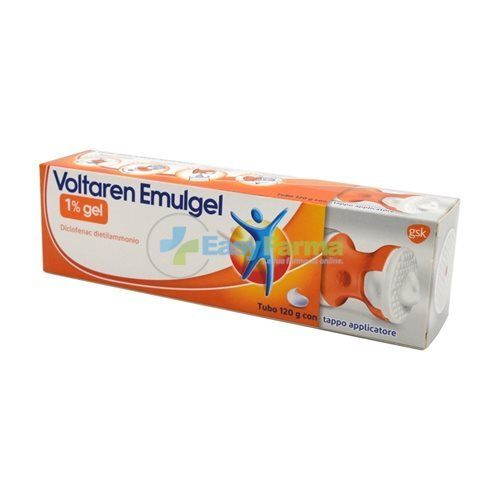 Voltaren Emulgel 1% 120g con tappo applicatore