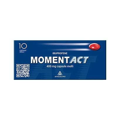 Moment act 10 cpr capsule molli