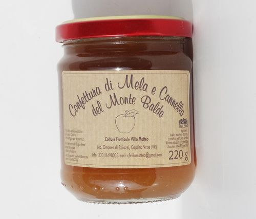 Monte Baldo apple and cinnamon jam