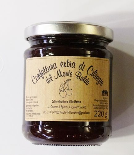 Cherry jam from Monte Baldo