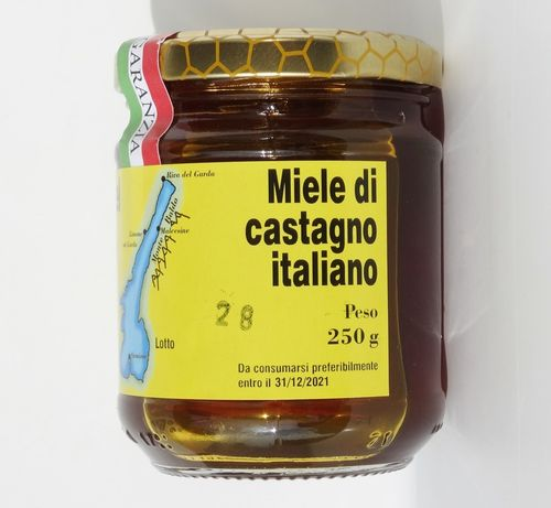Italian chestnut honey 250
