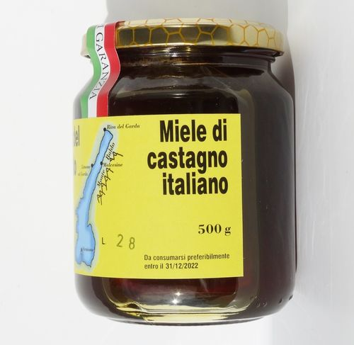 Italian chestnut honey 500