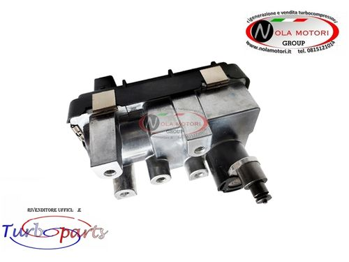 ATTUATORE ELETTRONICO PER TURBOCOMPRESSORE BMW X1, 316 D