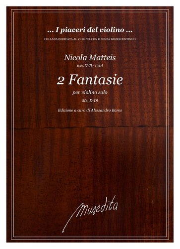 N.Matteis - 2 Fantasie (Ms, D-Dl)