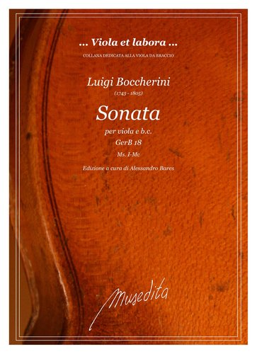 L.Boccherini - Sonata in do minore GerB 18
