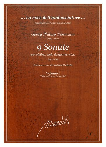 G.Ph.Telemann - 9 Sonate
