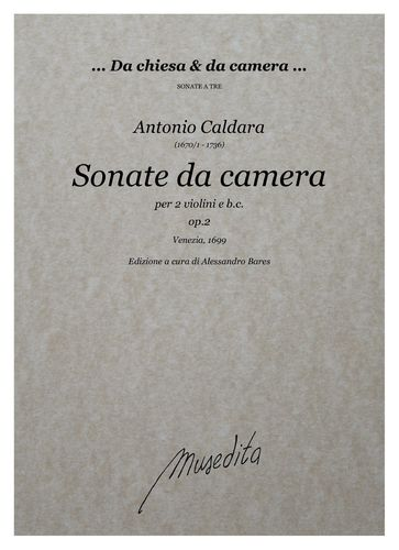 Caldara, Sonate da camera op.2