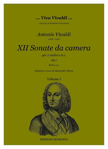 A.Vivaldi - Sonate da camera op.1 (Paris, s.a.)